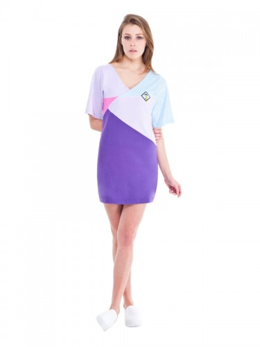 Virgo Dress (Purple)